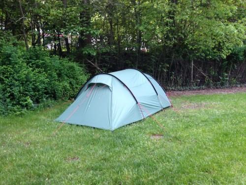 Zelt ohne Fuchs ;)