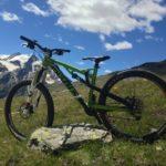Mein Radl in den italienischen Alpen :)